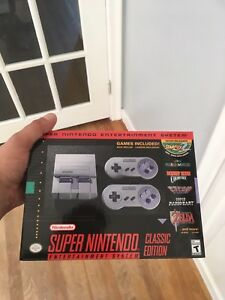 SNES CLASSIC (new in box) - SOLD OUT