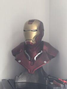 Sideshow life size bust Iron Man Mark3