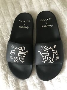 Coach X Keith Haring Slide