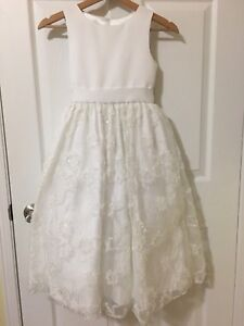 Girl's communion dress and shoes