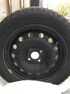 Winter Tires (195/55/R15, 4 bolt pattern)