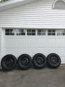 245/70/17 Winter Tires and Rims (JEEP)&(Grand Cherokee)