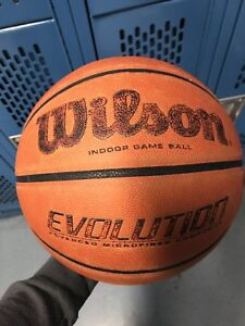Used indoor basketball evolution
