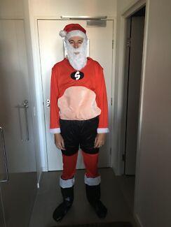 Fancy dress Santa clause outfit