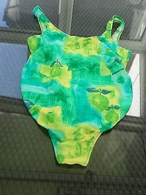 Anita maternity Badeanzug grün bunt Bademode für Schwangere Größe 42 Cup C