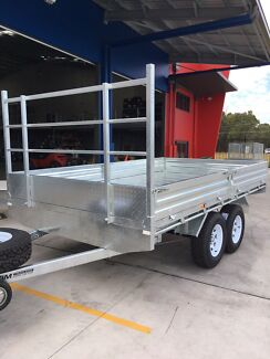 NEW FLAT TOP TRAILERS