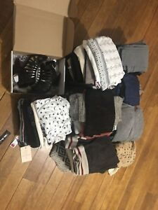 Big lot of new with tags and nearly new clothes XS and Small