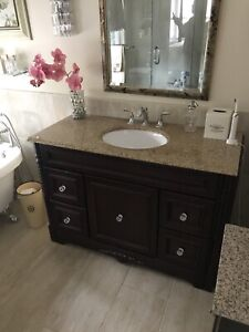 Decorative Vanity - Granite Top