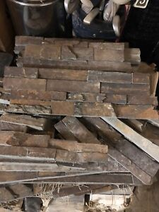 Wall slate/ insulated chimney/ misc