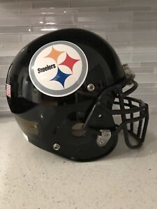 Authentic NFL Pittsburgh Steelers Shutt XP Football Helmet