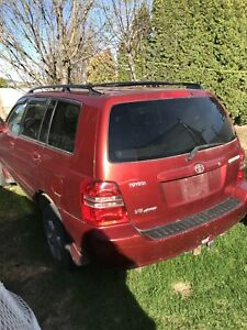 2003 Toyota Highlander/Parts