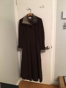 Manteau hiver cachemire et mouton de perce - small