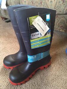 Bekina steel toe boots