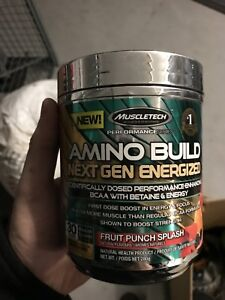 Amino energy by muscle tech