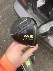 2017 M2 driver and 3 wood pair