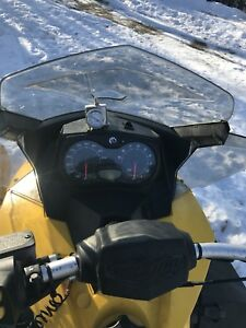 2up airbag suspension 2009 skidoo mxz 600ho etec
