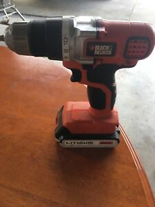 Black & Decker 20V Drill