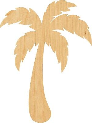 Palm Tree #1085 Laser Cut Out Wood Shape Craft Supply - Woodcraft](Palm Tree Cut Outs)