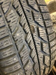 Icy Roads? 265/70R17 Winter Firestone Studded Tires ,wheels
