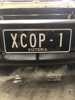 Holden BT1 Victorian personalised number plates
