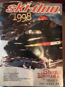 Ski doo shop manual