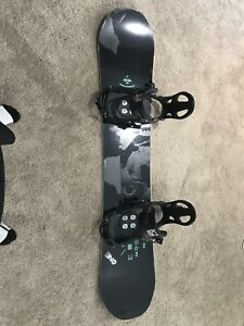 "Rome Snowboard 147"" with k2 step in bindings"