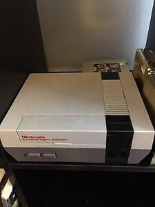 Classic NES system and games