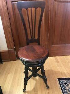 Piano Chair - Antique