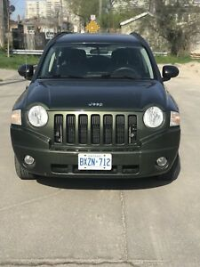 2007 Jeep Compass only 155km