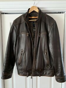 Leather jacket from dimitri.