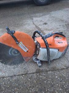 TS420 Stihl Concrete Saw