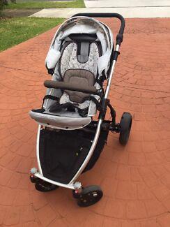 Strider Plus Pram/stroller and accessories