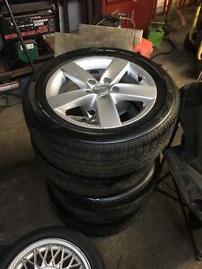 4 pneus d'été Bridgestone P205/55/R16