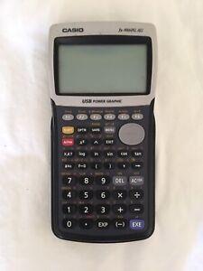 Casio graphic fx-9860G AU calculator