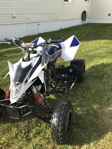 Ltr 450 trade for a car