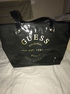Guess Tote Bags ( Red and Black)