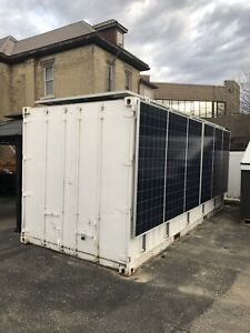20ft sea container self contained job site office