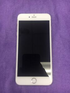 iPhone 6s PLUS white and silver 64gb 9/10 condition