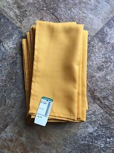 Yellow Table Napkins