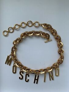 MOSCHINO x H&M 24K Gold Plated Chain Belt
