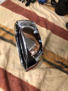 "Harley-Davidson 5-3/4"" Headlamp Visor Style Trim Ring"