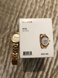 Nixon Spur all gold watch