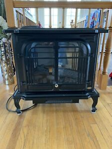 Coleman electric fireplace