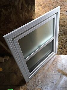"""1 frosted window - 30 3/8"""" x 32 1/2"""""""