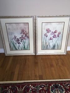 TWO BEAUTIFULLY MATTED AND FRAMED PRINTS !!!