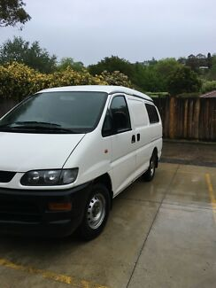 Van Mitsubishi express RWC, Reg, Gas low kms, couriers, tradies Balwyn North Boroondara Area Preview