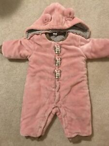 Disney snow suit for baby girl 6-12months