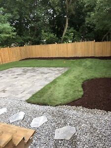 A Couple Landscapers: Stepping Stone Walkways, and Interlock.