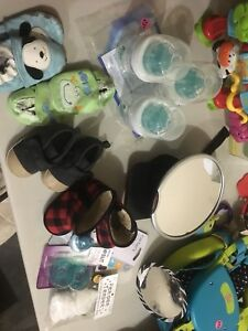 Lots of items! Baby, household, beauty, Wii games