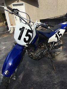 125cc large Suzuki dirt bike